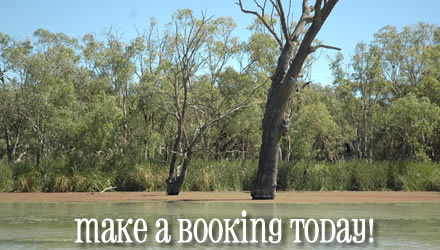 Make a booking with Magnum Houseboats
